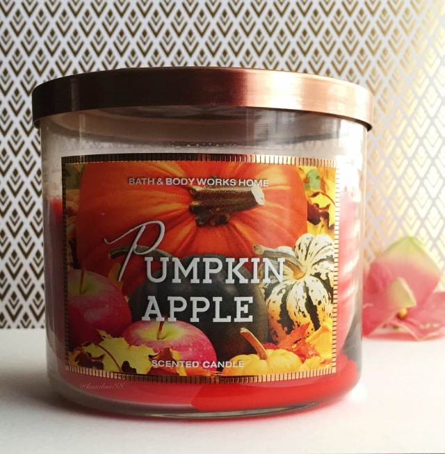 Pumpkin Apple Candle