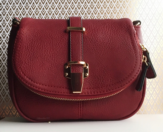 Cklass Burgundy Purse