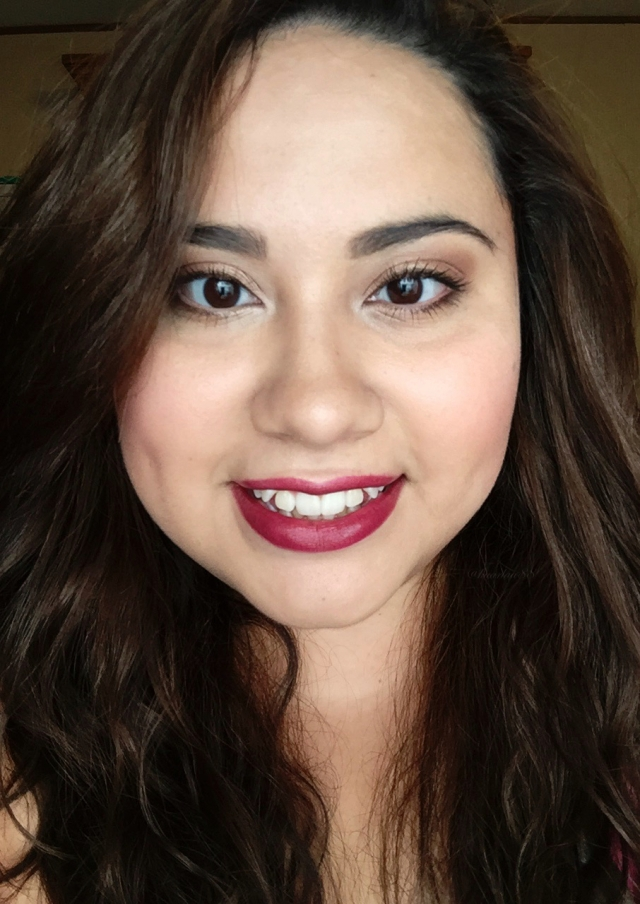 Fall Makeup Look: Bold Lips