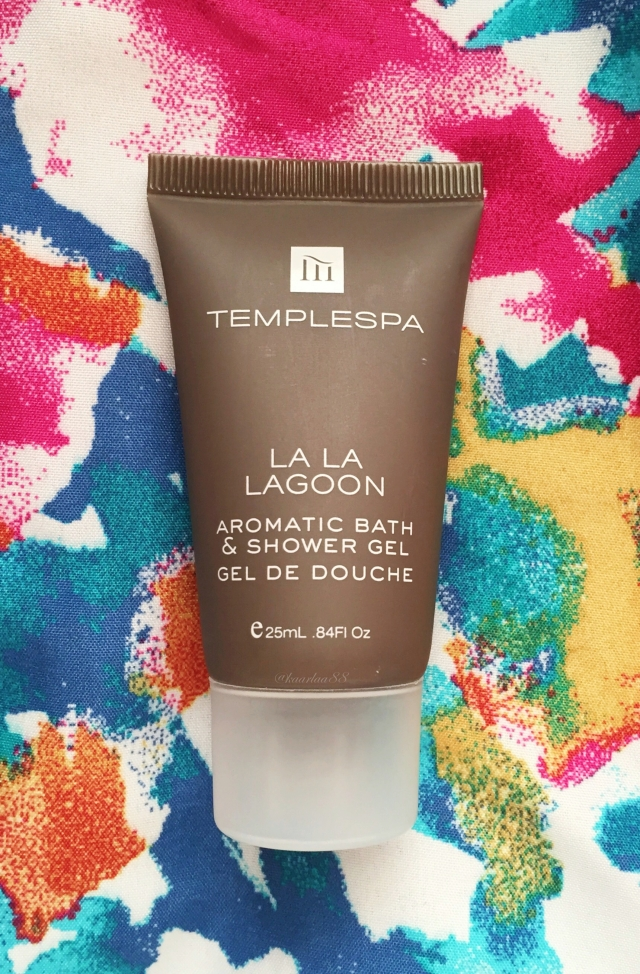 Temple Spa La La Lagoon Aromatic Bath & Shower Gel | Birchbox Unboxing: November 2015