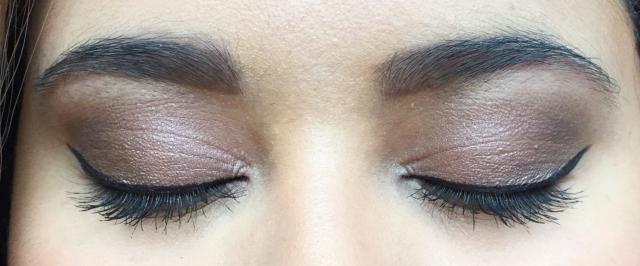 Bold Makeup Look Eyes