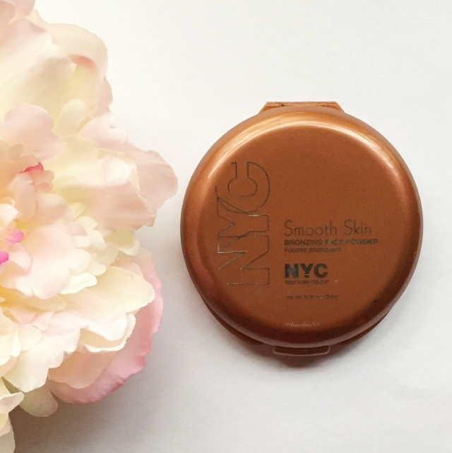NYC Smooth Skin Bronzing Face Powder in Sunny| My Favorite Drugstore Makeup Products