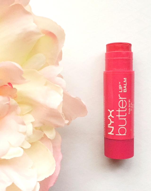 NYX Butter Lip Balm in Ladyfingers | My Favorite Drugstore Makeup Products