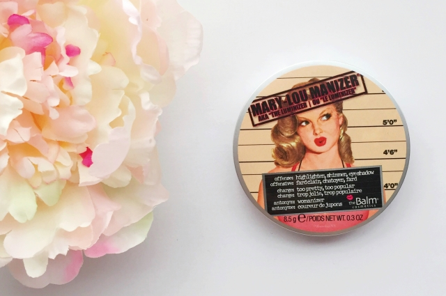 theBalm Mary-Lou Manizer| Favorite Eight: October 2015