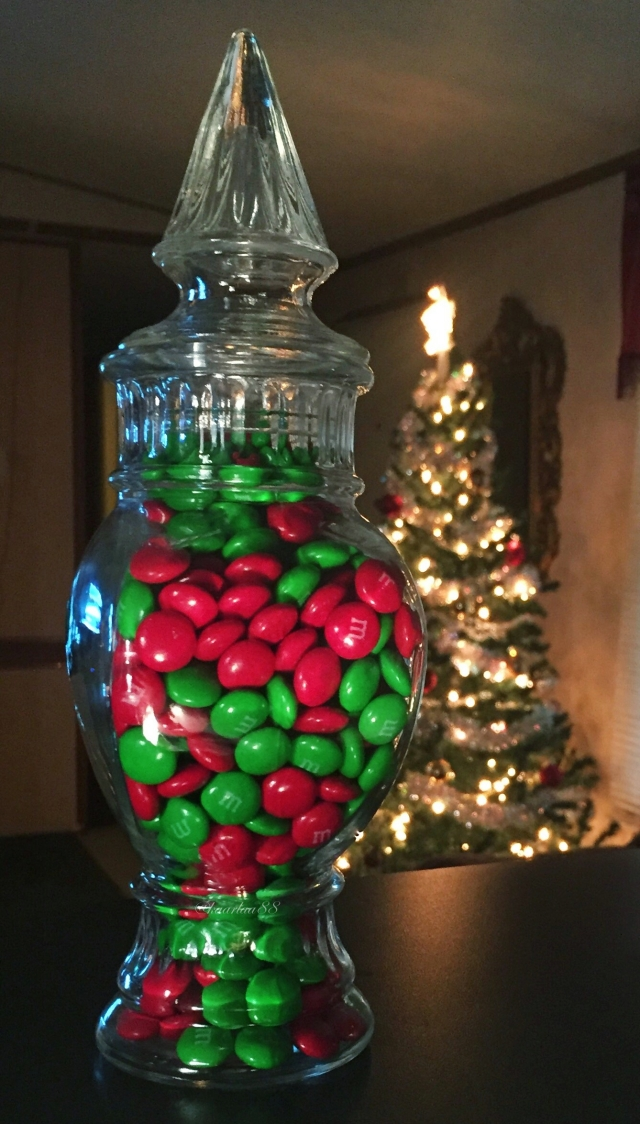 M&M's Jar | Christmas Decorations