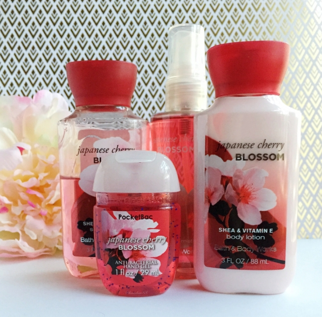 Japanese Cherry Blossom Bath & Body Works Set | Favorite Eight: December 2015