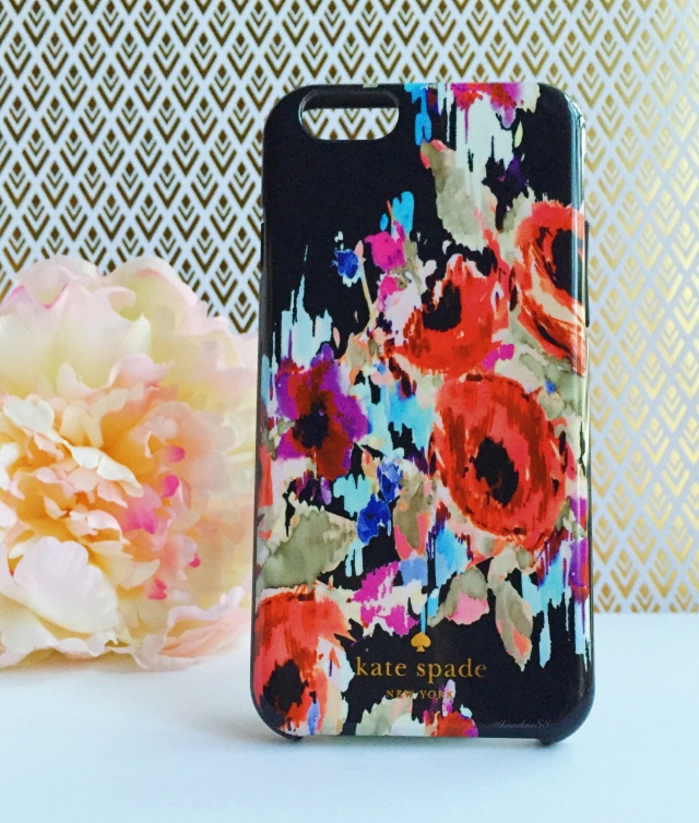 Hazy Floral Kate Spade Phone Case | Favorite Eight: December 2015