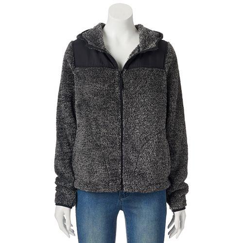Juniors' SO Sherpa Hoodie Zip Jacket   Favorite Eight: November 2015