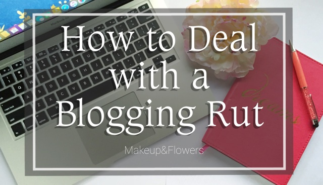 How to Deal with a Blogging Rut