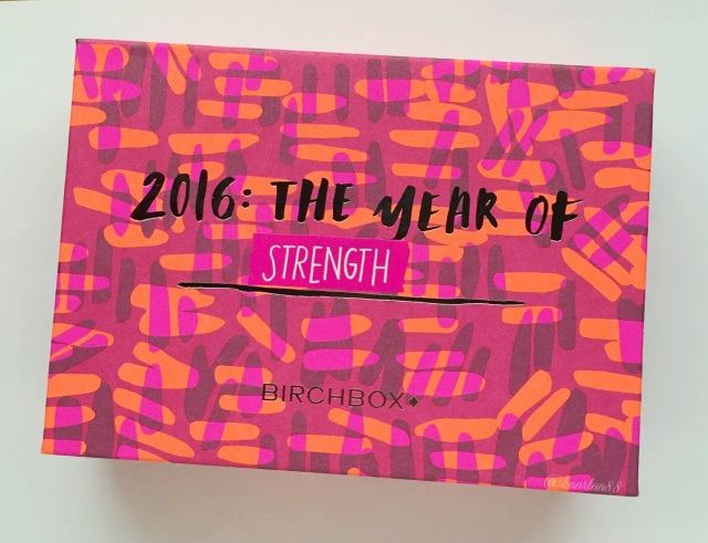 Birchbox Unboxing: January 2016