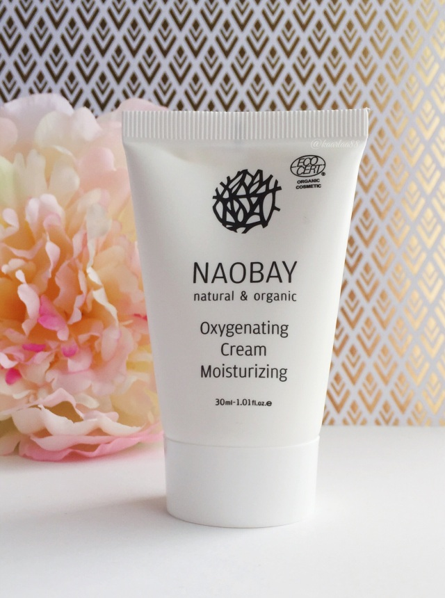 Naobay Oxygenating Cream Moisturizer | Birchbox Unboxing: February 2016