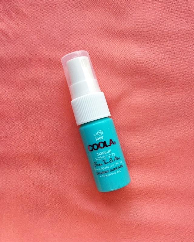 COOLA SPF 30 Organic Makeup Setting Spray   Birchbox Unboxing: March 2016