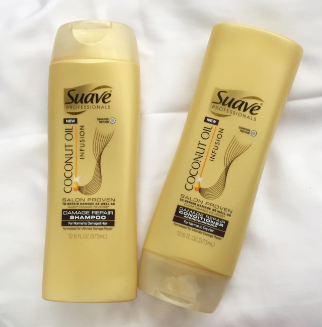 Suave Professional Oil Infusion Shampoo and Conditioner | March Favorites + Life Update