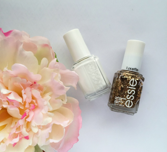 Essie Polishes | White & Gold