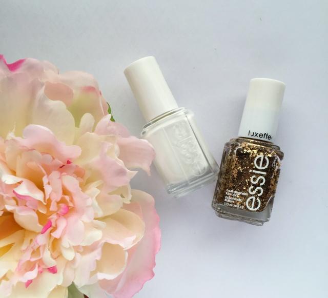 Essie Polishes | White & Gold