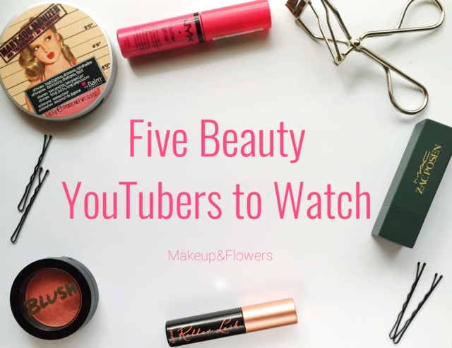 Five Beauty YouTubers to Watch Banner