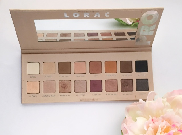 LORAC PRO Palette 3 | July 2017 Favorites