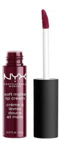 NYX Soft Matte Lip Creme in Copenhagen | Fall Makeup Wishlist
