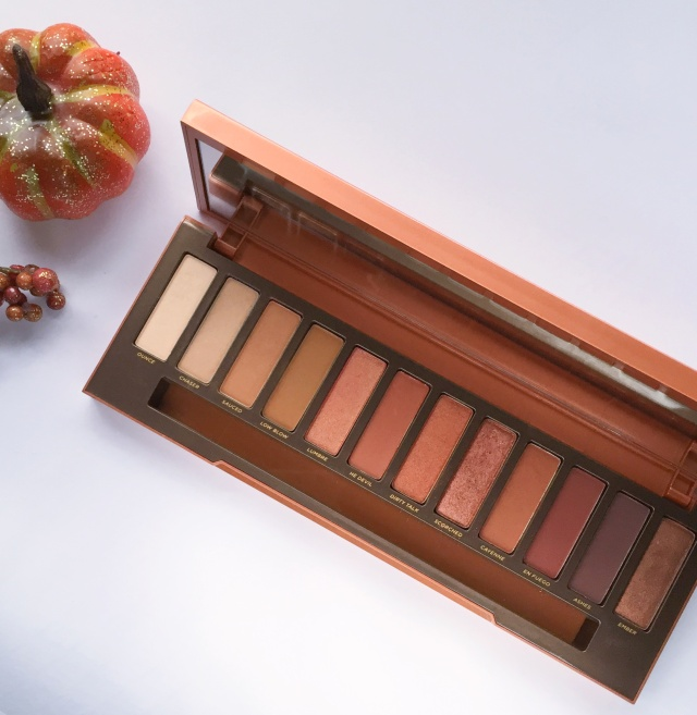 Urban Decay Naked Heat Palette | September 2017 Favorites